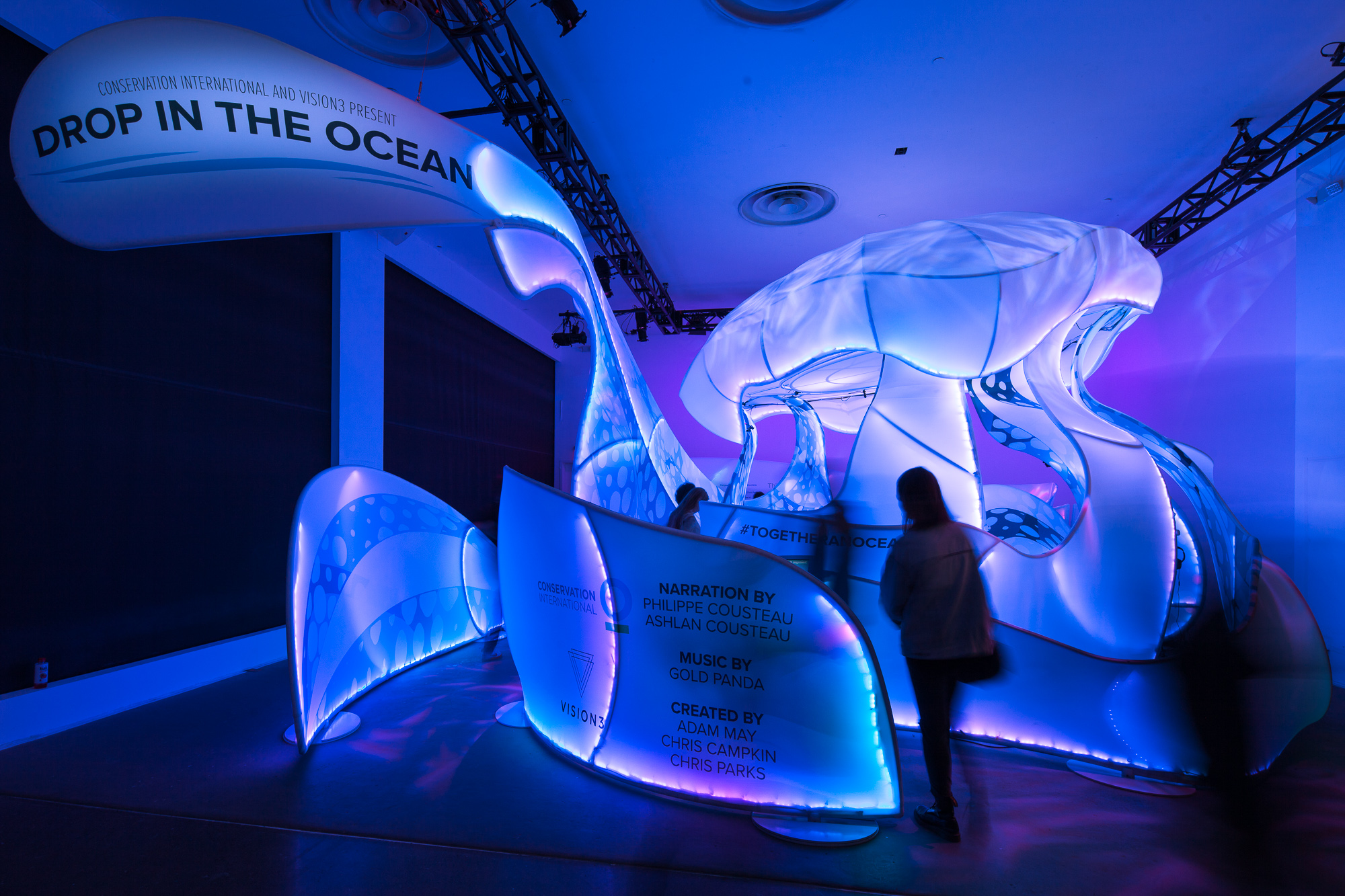 "The Drop in the Ocean ""Jellyfish"" received an Award of Excellence"